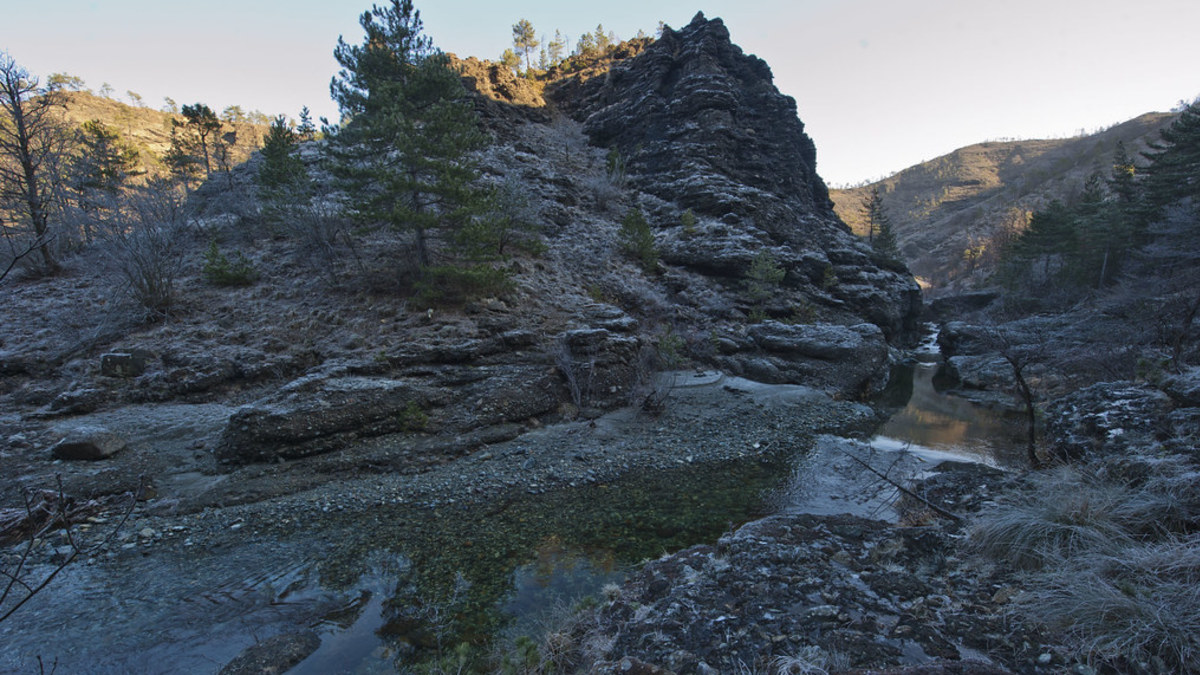Il canyon della Val Gargassa con un giro ad anello