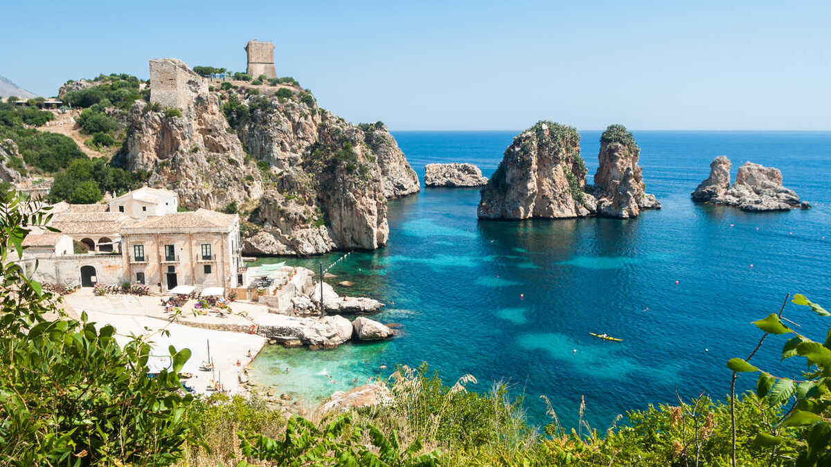 La riserva dello Zingaro, paradiso naturale in Sicilia